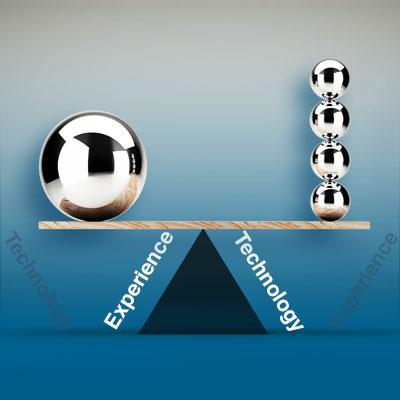 experience vs technology